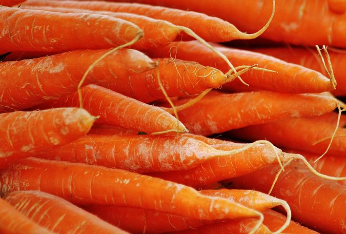 PHOTO OF CALORIES IN CARROTS